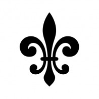 Fleur De Lis Logo Symbol 03604
