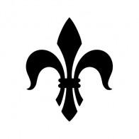 Fleur De Lis Logo Symbol 03605