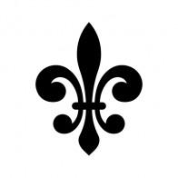 Fleur De Lis Logo Symbol 03609