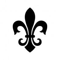 Fleur De Lis Logo Symbol 03613