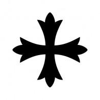 Cross Patonce Fleury Symbol 03620