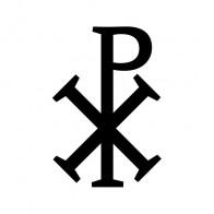 Greek Scribble Xp Cross Christians 03650