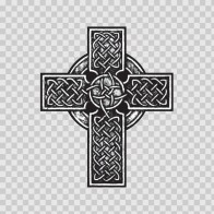 Celtic High Detail Cross Metal Design  03660