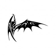 Tribal Bat 04010