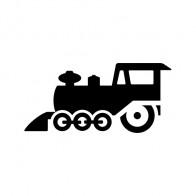 Old Train Icon 04140