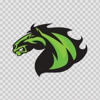Power Green Horse 04359