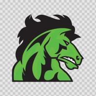 Power Green Horse 04368
