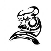 Bull Tribal 04397