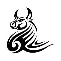 Bull Tribal 04398