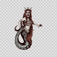 Woman Fantasy Magic Creature 04635