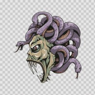 Medusa Fantasy Magic Creature 04637