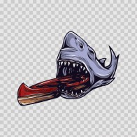 Shark Canoe  04704