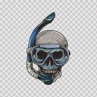 Skull Scuba Mask 04712