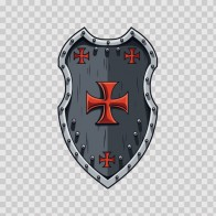 Middle Ages Knight Shield 04838