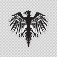 Heraldic Eagle 05002
