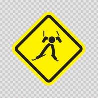Ski Sports Area Sign 05005