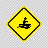 Canoe Sign 05015