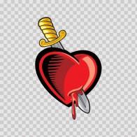 Cartoon Broken Heart 05077
