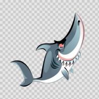 Cartoon Shark 05133