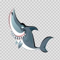 Cartoon Shark 05134