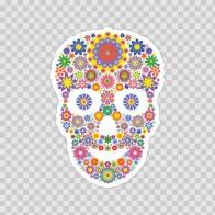 Floral Skull 05301