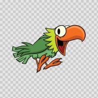 Green Parrot 05421
