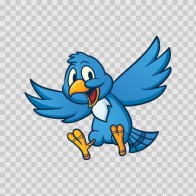 Blue Huppy Bird 05511