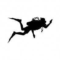 Scuba Diver Figure 05596