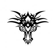 Tribal Dragon Head 05632