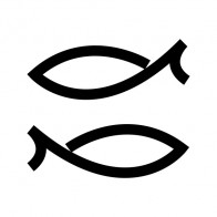 Simple Pair Of Fishes 05658