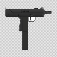 Automatic Gun Figure 05703