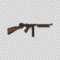 Automatic Gun Figure 05707