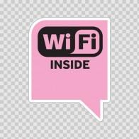Wi Fi Inside Pink 05775