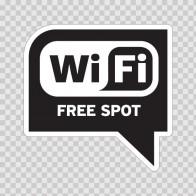Wi Fi Free Spot Black 05776