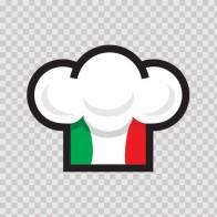 Italian Chef Hat 05826