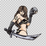 Sexy Warrior Girl 05902