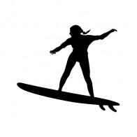 Surfer Girl Figure 06317
