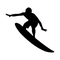Surfer In Action Figure 06321