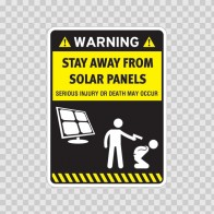 Funny Stay Away From Solar Panels 06575