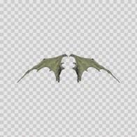 Pair Of Wings Bat Dragon 06651