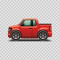 Caricature Vehicle Pickup 07268