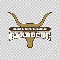 Real Southern Barbeque Sign 07374