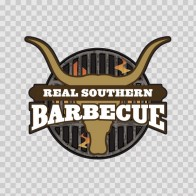 Real Southern Barbeque Sign 07376