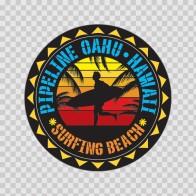 Pipeline Oahu Hawai Souvenir Memorabilia Surfing Beach 07632