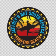 Jeffrey's Bay South Africa Souvenir Memorabilia Surfing Beach 07634