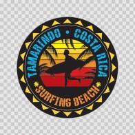 Tamarindo Costa Rica Souvenir Memorabilia Surfing Beach 07640