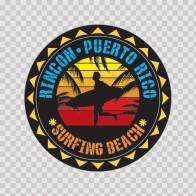 Rincon Puerto Rico Souvenir Memorabilia Surfing Beach 07644