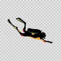 Scuba Diver Exploring 07887