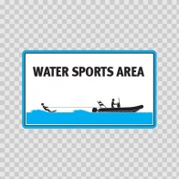 Water Sports Area Sign 08168