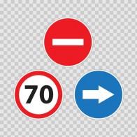 Back Truck Speed Limits 70 Km 08317